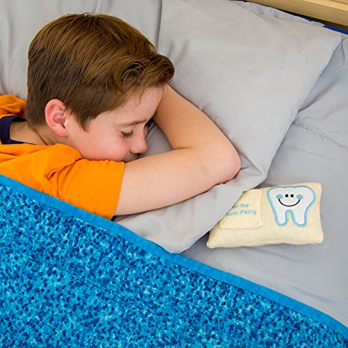 CHERISHED KID Tooth Fairy Pillow Kit for Boys with Pouch and Letter Note – Keepsake Box Makes it a Great Gift Idea for Kids by E-Com Highway (Image #6)