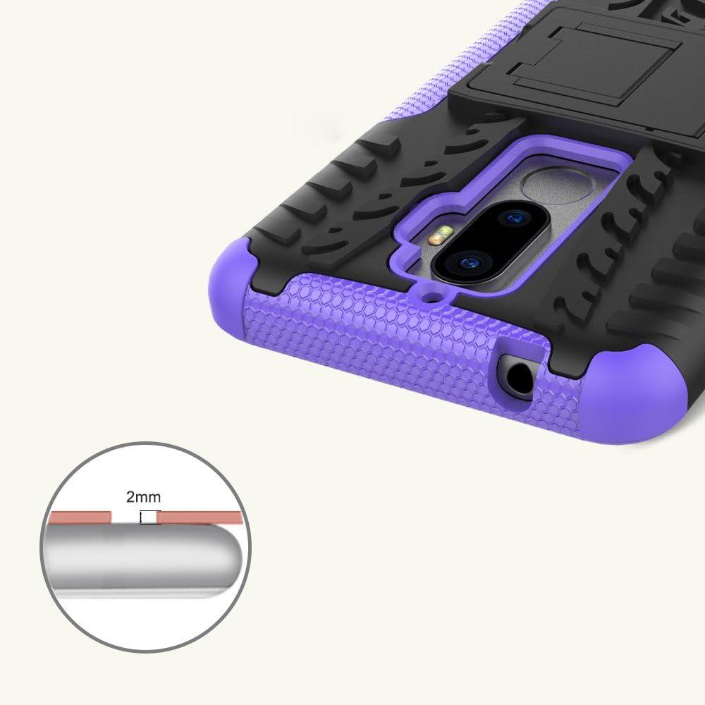 OFU®Para Lenovo K8 Note Smartphone, Híbrido Caja de la Armadura ...