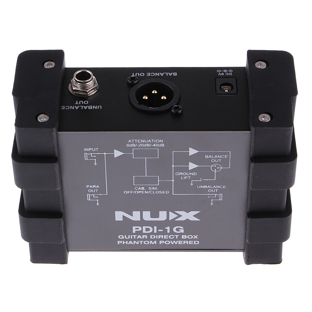 Dovewill NUX PDI-1G DI Box Guitar Direct Injection Box for Guitar Bass Parts by Dovewill (Image #5)