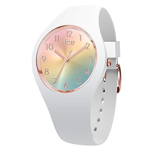 Ice-Watch Reloj Analógico para Mujer de Cuarzo con Correa en Silicona 15743: Amazon.es: Relojes
