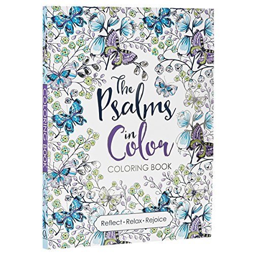 The Psalms to Color Coloring Book