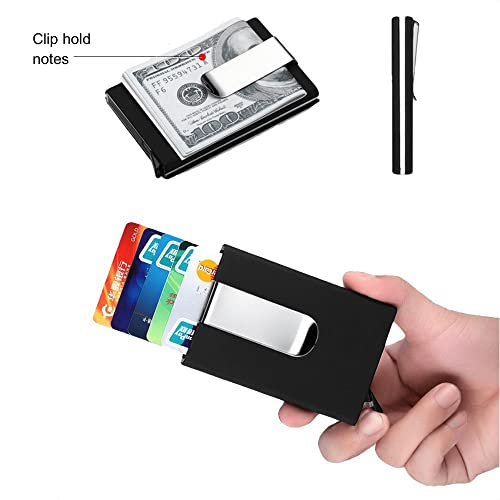 gifts for himher kengadget money clip slim aluminium card holder rfid blocking