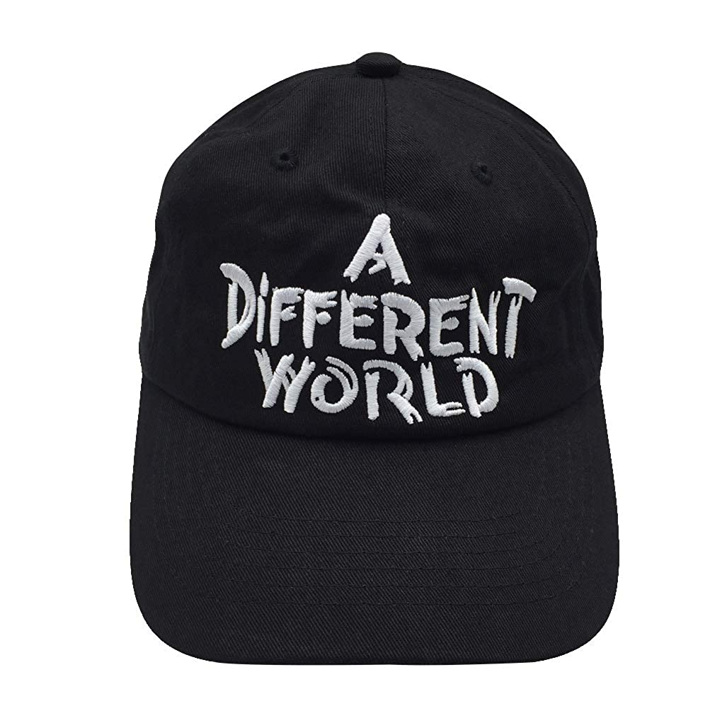 c03db8ea Shengyuan Lin A Different World Baseball Caps Dad Hat Cotton Adjutable Hat  Embroidered Cap (Black) at Amazon Men's Clothing store: