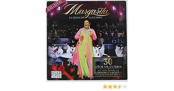 Margarita La Diosa De La Cumbia - 30 Años De Cumbia Cd+dvd En Vivo Desde El Auditorio Nacional - Amazon.com Music