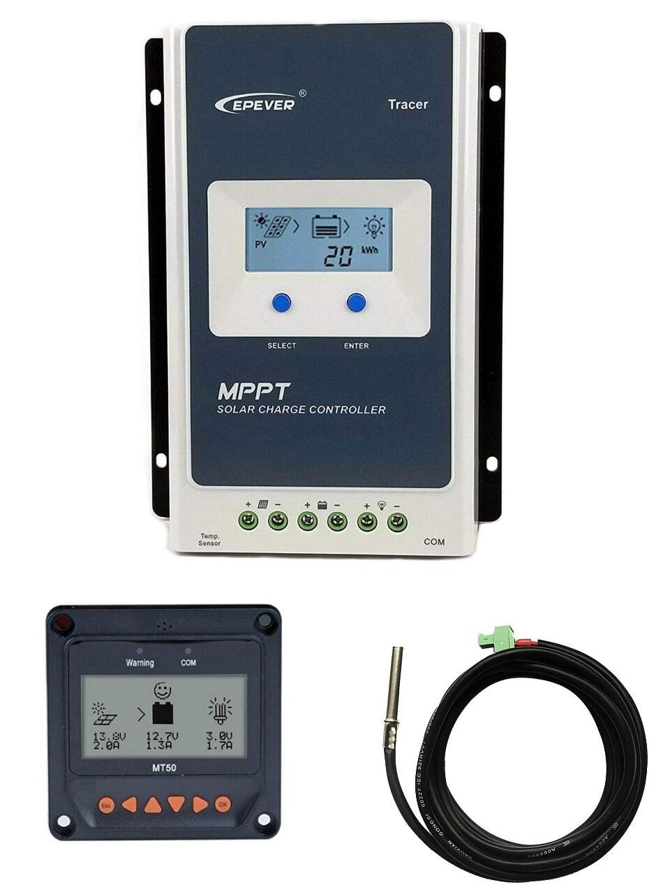 Anancooler MT50 Remote Meter Controller per regolatore di carica solare Epever MPPT