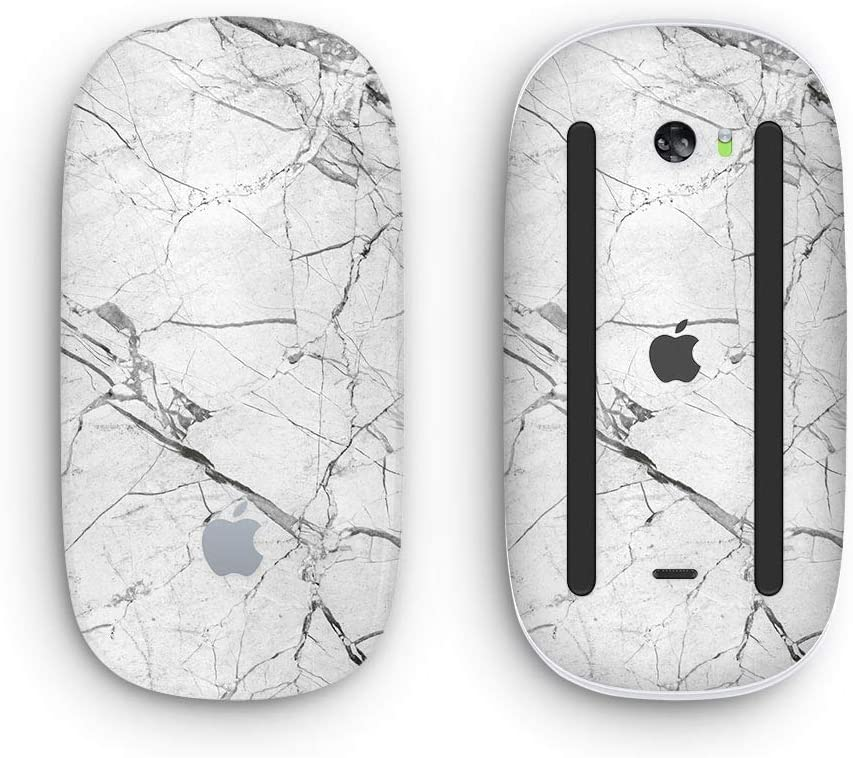 White-Black Marble /& Digital Gold Foil V1 2 Design Skinz Premium Vinyl Decal for The Apple Magic Mouse 2 Wireless, Rechargable with Multi-Touch Surface