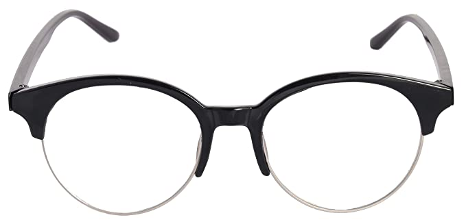 be18e1faf9 Round Half Rim Spectacle Frame For Boys