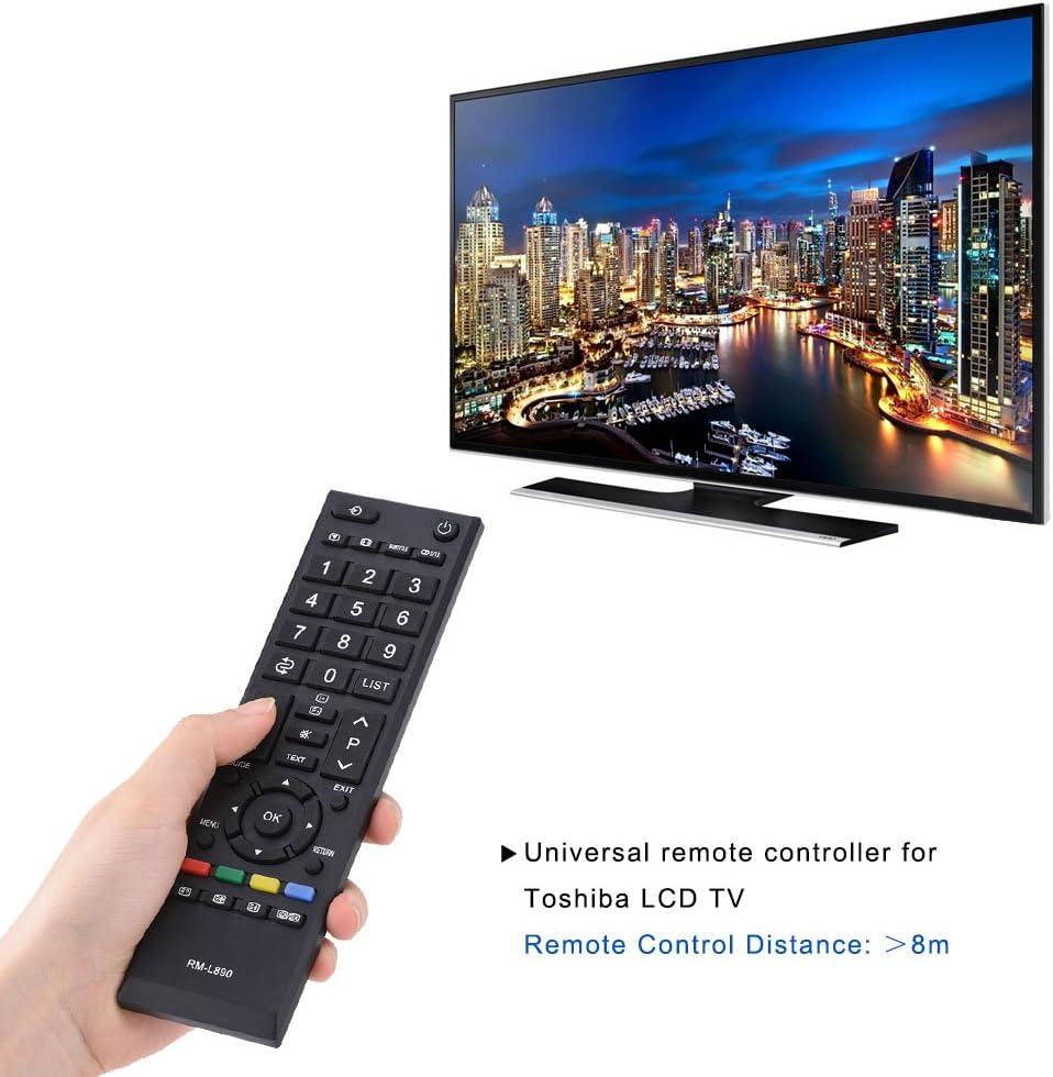 Richer-R TV Control Remoto Universal de Respuesto,Reemplazo de Mando a Distancia para Toshiba LCD TV: Amazon.es: Electrónica