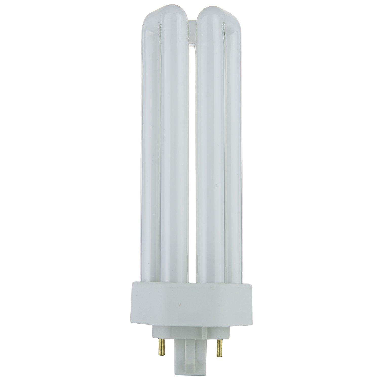 Sunlite PLT32 E SP30K 32 Watt Compact Fluorescent Plug In 4 Pin Light Bulb 3000K Color