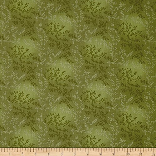 Santee Print Works 108in Wide Back Tonal Vineyard Cabbage Fabric By The (Tonal Prints Cotton Quilt Fabric)