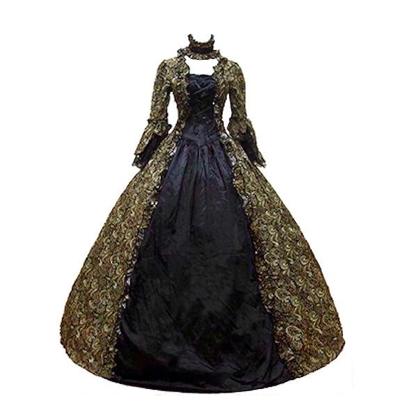 KEMAO - Disfraz de Rococo Victoriano para Mujer