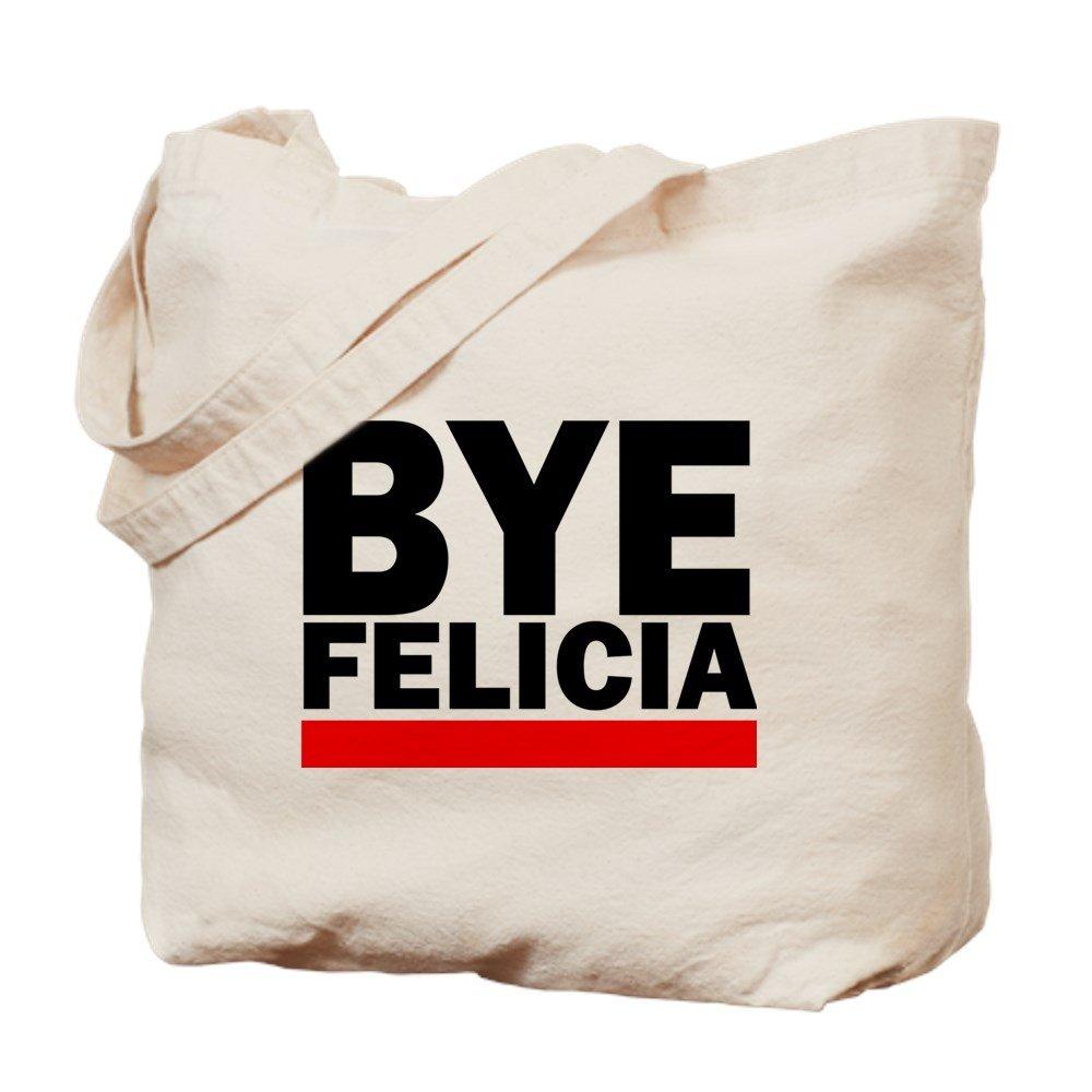 CafePress – Bye Felicia – ナチュラルキャンバストートバッグ、布ショッピングバッグ M ベージュ 13288889476893C B073QV7B2Z  M