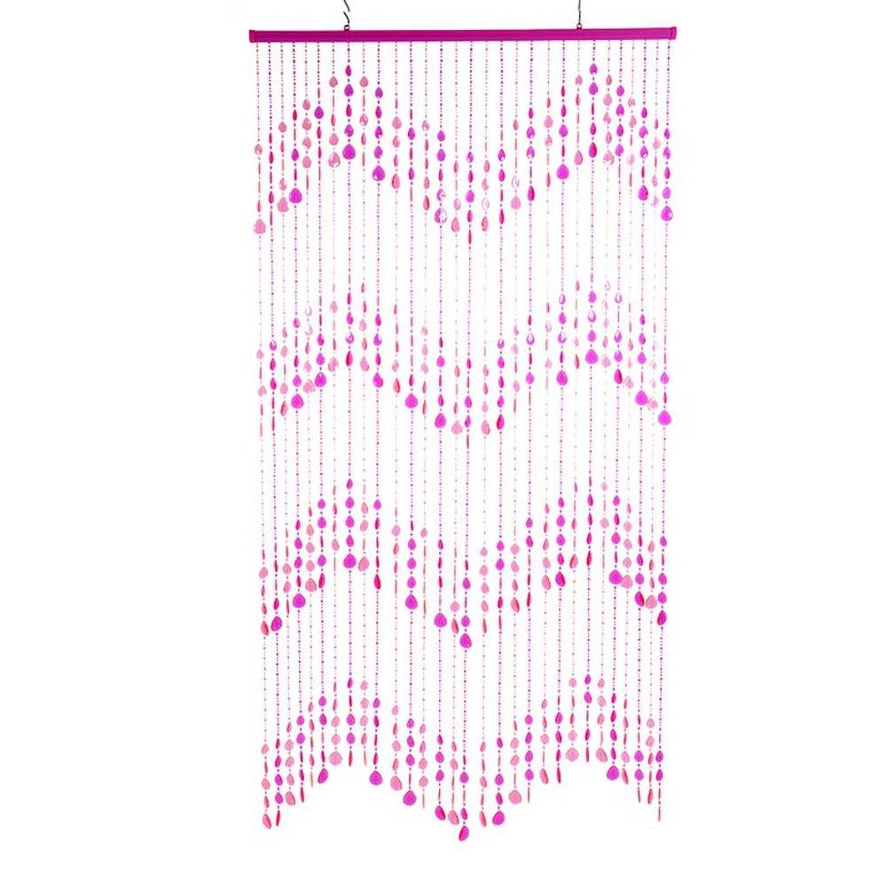 90 x 200 cm DV0213 HAB /& GUT Rosa Tenda per Porte Gocce