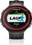 Garmin Forerunner 220Orologio GPS per la Corsa 010–01147–10, colore: nero/rosso (certfied Ricondizionato)