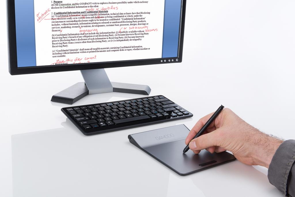 Computer writing pad