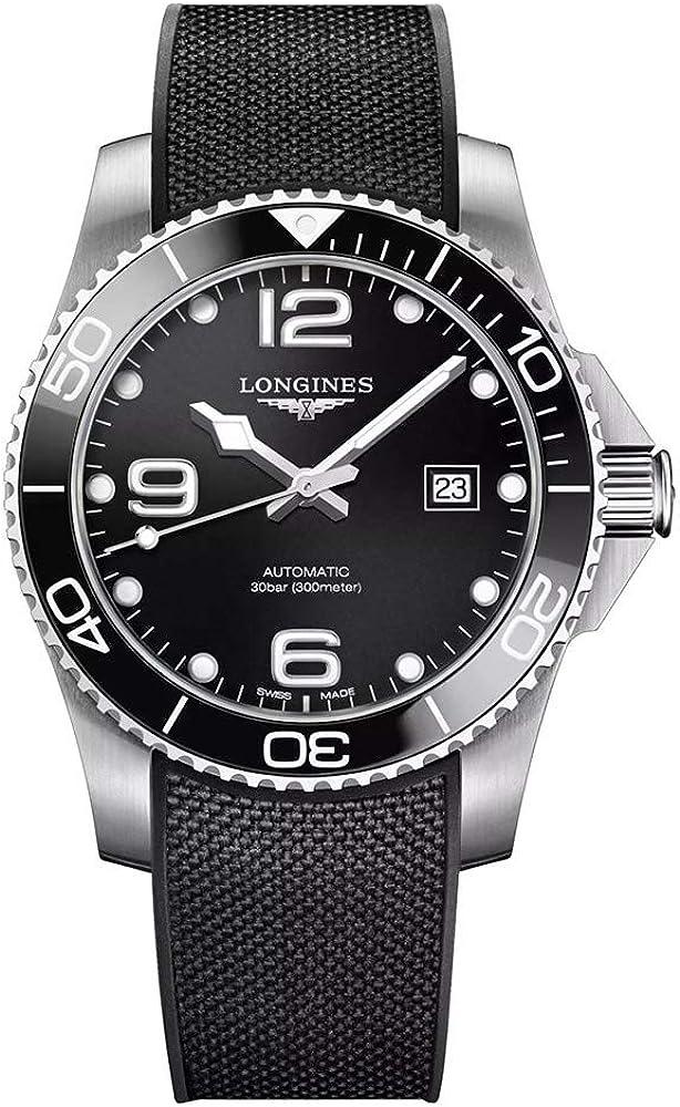 Longines HYDROCONQUEST L37814569 - Reloj de Buceo automático (cerámica, 41 mm)