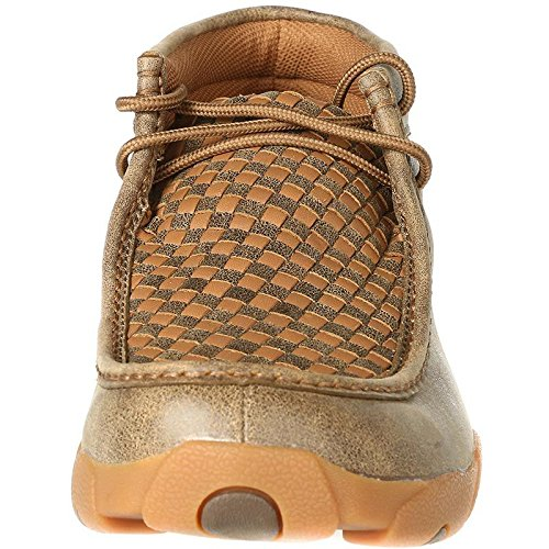 Twisted X Boots Mens Patchwork Driving Mocs 9 W Bomber/Tan by Twisted X (Image #1)