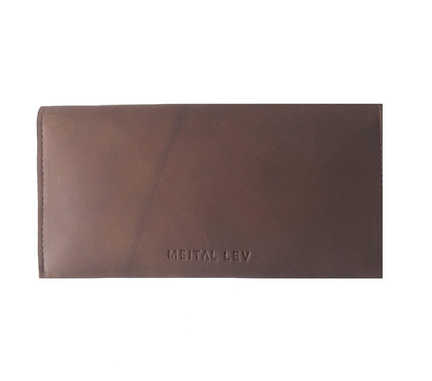 Handmade Designer Brown Genuine Leather wallet