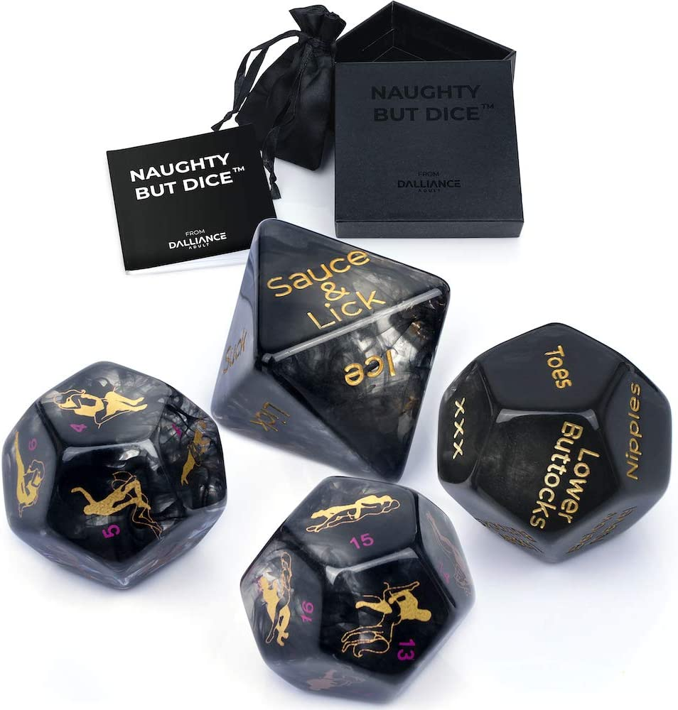 forocean Ṥex Dice Games for Ădũlť /Ç/ö/Ûpl/êṤ Glow in The Dark Romantic Role Playing Dice for Him and Her Party Dice Game Novelty Gift for Hen Party Party Games,Bedroom Toys