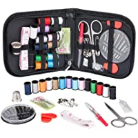 Haobase Sewing Kit for Traveler, Adults, Beginner, Emergency, DIY Sewing Kit Supplies Including Scissors, Thimble…