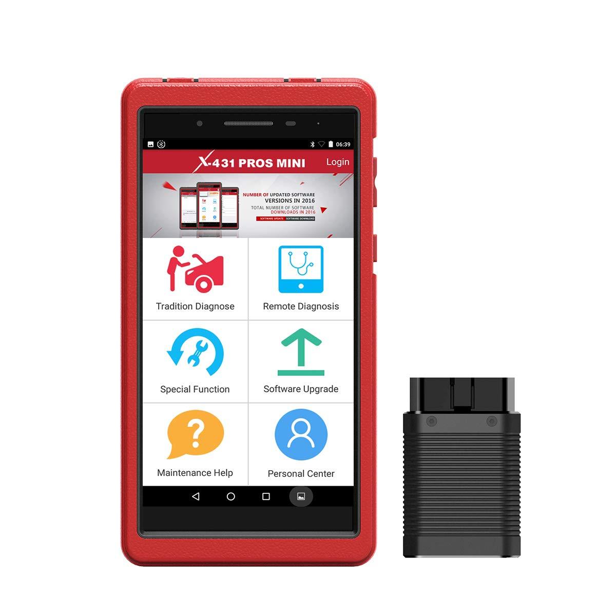 Bi Directional Scan Tool >> Amazon Com Launch X431 Pros Mini Bi Directional Scan Tool Obd2