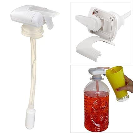 Creative eléctrica cerveza zumo máquina automático dispensador de bebidas automático zumo de agua Herramientas paja bebida