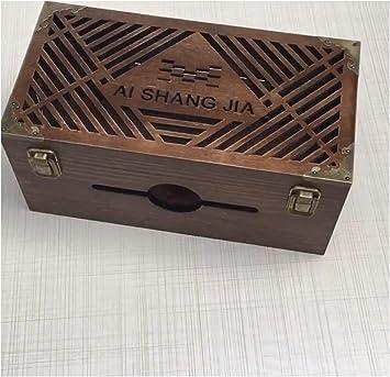 Caja organizadora de cables, ocultar y ocultar bloques de extensión y cables eléctricos de televisores, ordenadores,