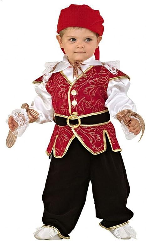 Mortino Disfraz de Pirata para niños Talla 92 (bebé) Disfraz de ...