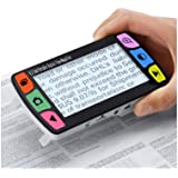 Eyoyo 4.3 Inch Portable Video Digital Magnifier Electronic Reading Aids w/Multiple Color Modes 6X-16X