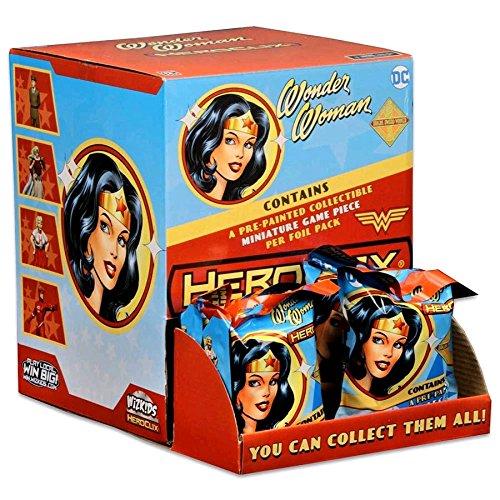 WizKids DC HeroClix: Wonder Woman Gravity Feed Box