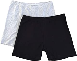 product image for Esme Girl's Soft pima Modal Bike Shorts for Sports or Under Skirts 2-16