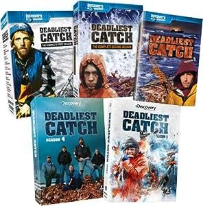 Deadliest Catch: 5 Seasons, 1 through 5 Bundle - Seasons 1, 2, 3, 4, and 5 Box Sets