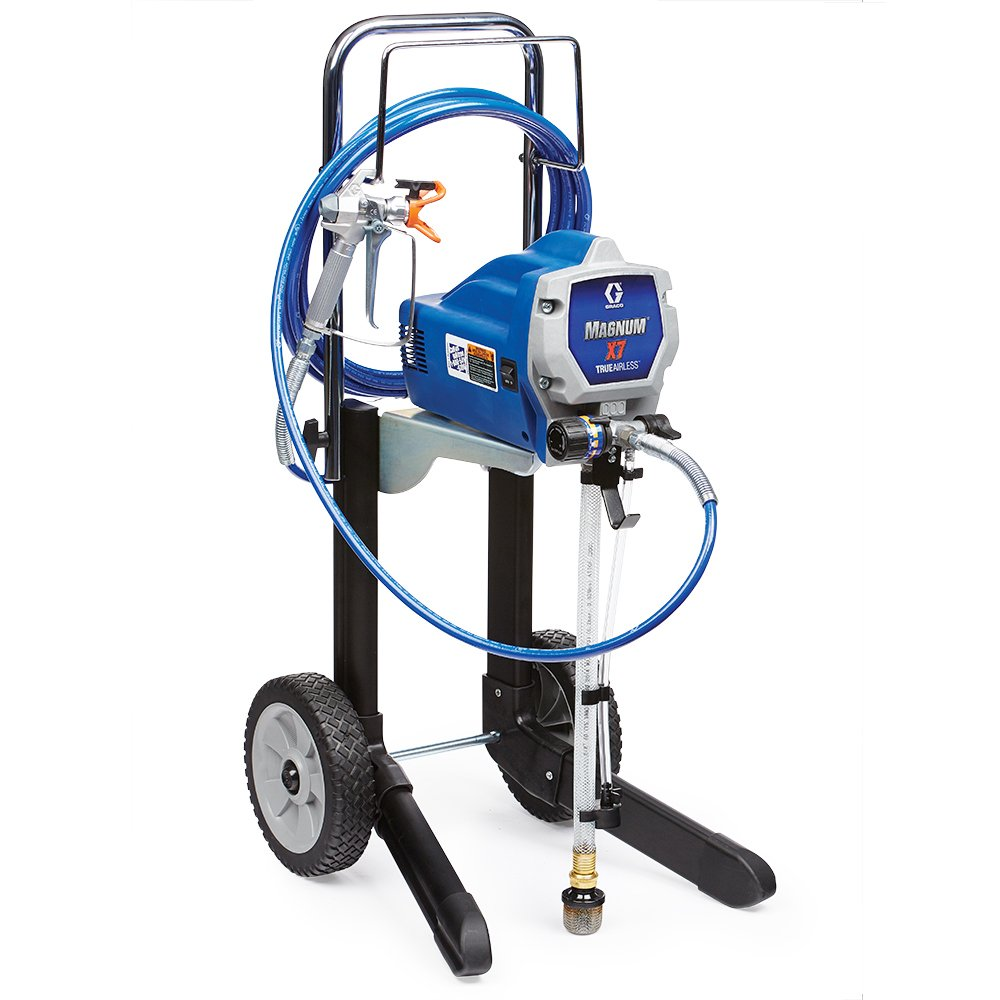 Graco Magnum 262805 X7 Cart Airless Paint Sprayer, Grey