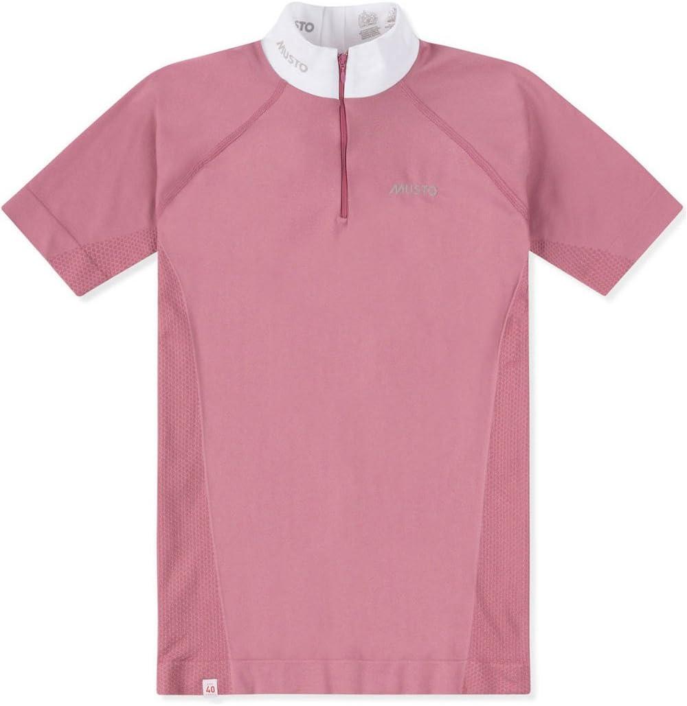 Musto Camisa Performance Mujer Stock Dusk Rose: Amazon.es: Deportes y aire libre