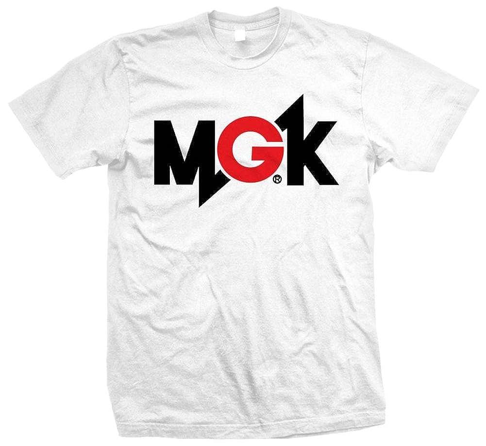 Bravado Machine Gun Kelly Music Mens Mgk Logo White Shirts