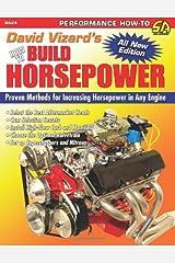 David Vizard's How to Build Horsepower (S-A Design) Paperback
