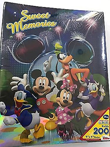 (Disney Mickey Mouse Fireworks Sweet Memories 200 Picture Photo Album 4x6)