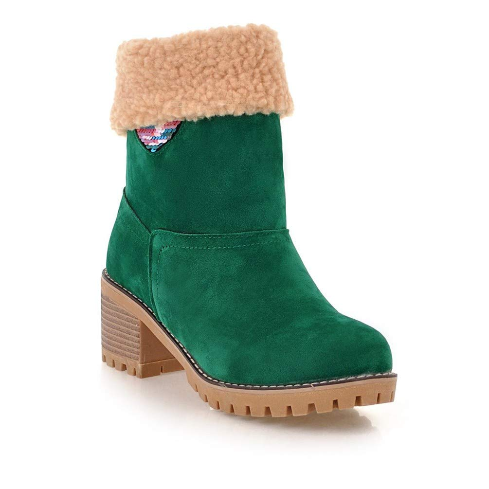 Bottes Bottes Femme   Bottines   Bottes Bottes Martin, Talon Bottes Bas Femme, Bottes en Coton Green 58ee764 - therethere.space