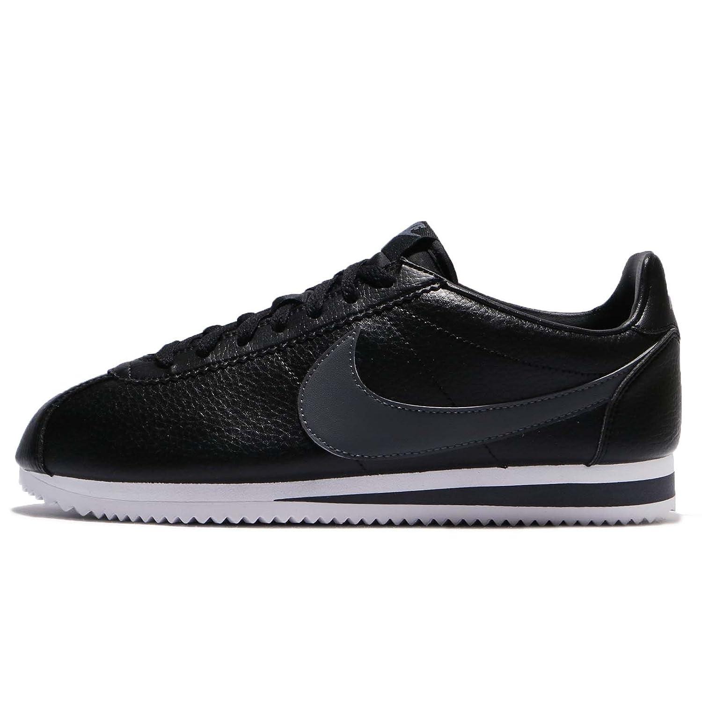 (ナイキ) クラシック コルテッツ レザー メンズ ランニング シューズ Nike Classic Cortez Leather 749571-011 [並行輸入品] B075X9K2NQ 26.5 cm BLACK/DARK GREY-WHITE