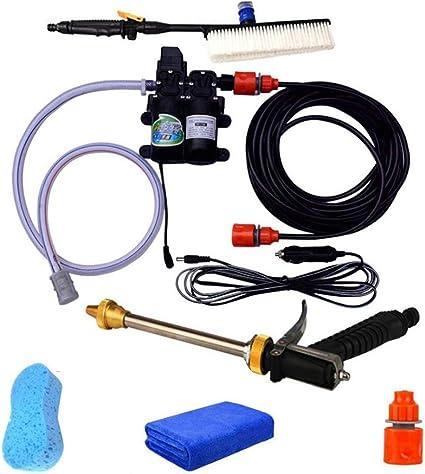 12 V 100 W 160PSI 5 modes de Haute Pression Voiture électrique Rondelle pistolet tuyau de pompe nous