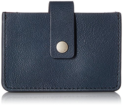 (Fossil Mini Tab Wallet Navy Multi)