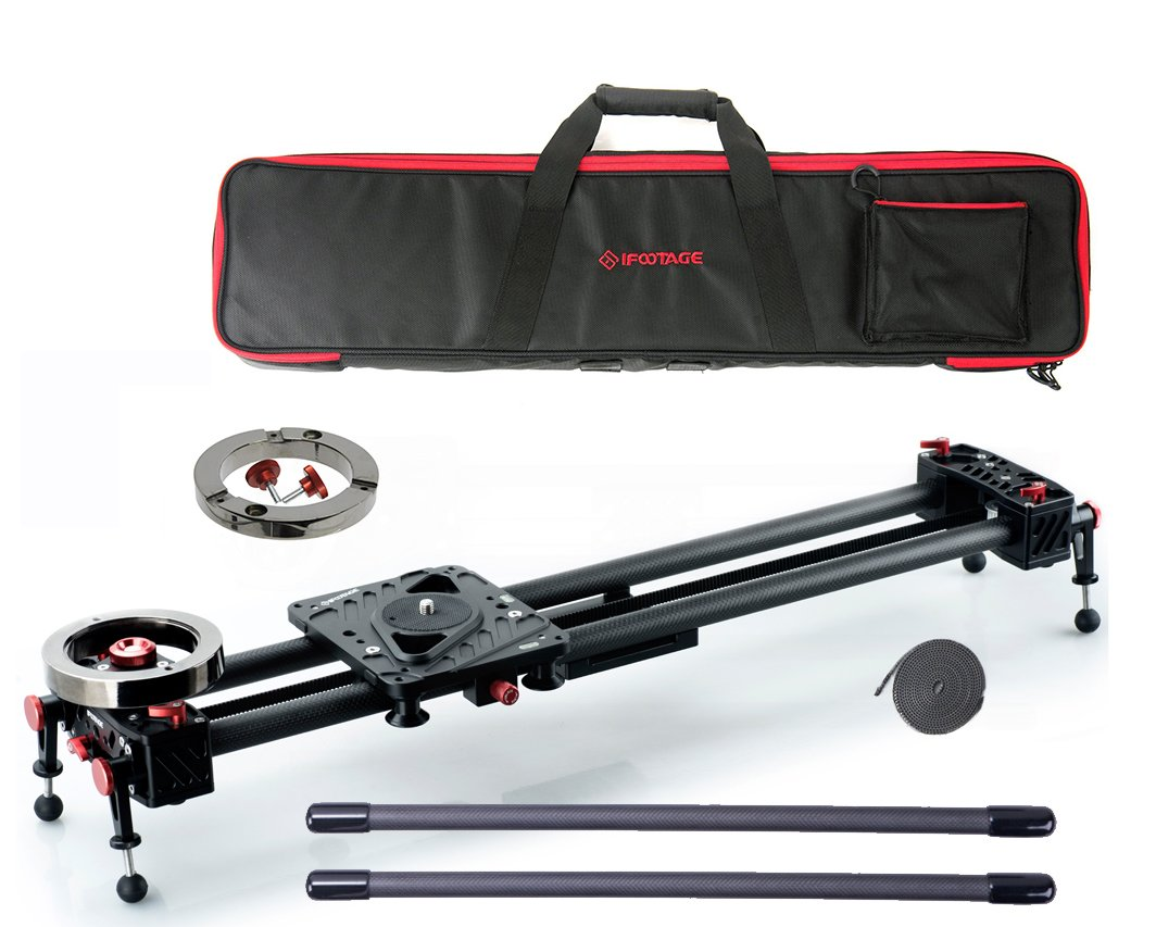 Shark Slider S1 Special Bundle: Extra Auxiliary Weight, Carrying Case, Extension Rods and Extra Belt by IFOOTAGE