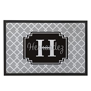 front door mats lowes grey home indoor outdoor custom name mat rug non slip washable funny inside