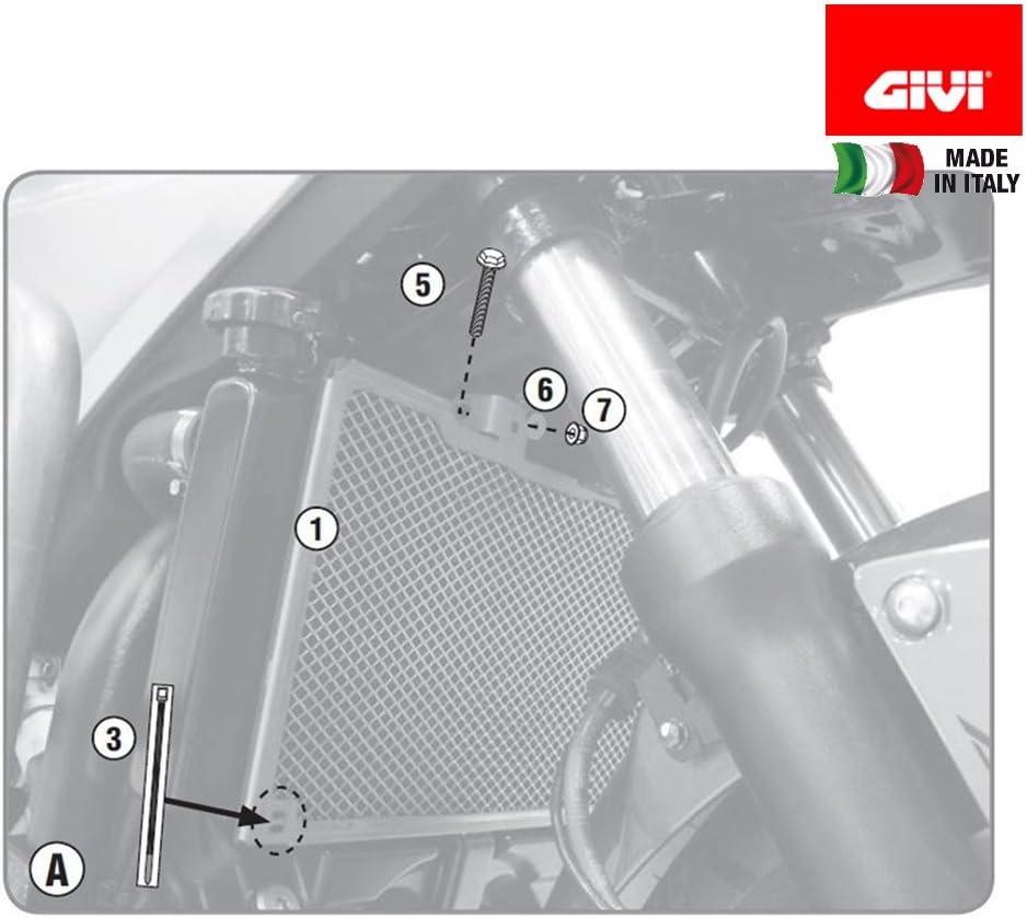 Givi Pr1146 Spezifischer Kühlerschutz Auto