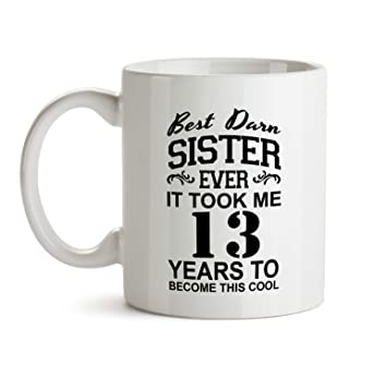 13th Sister Birthday Gift Mug