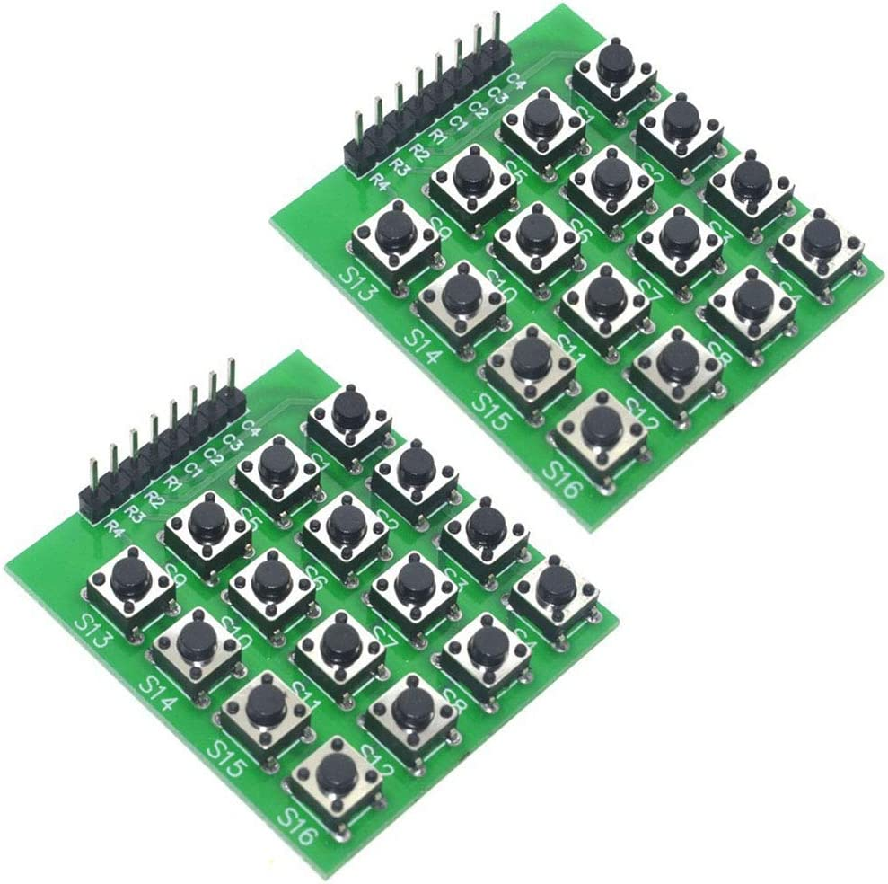 Partstower Modulo Teclado numerico de Matriz 4x4 keypad para ...