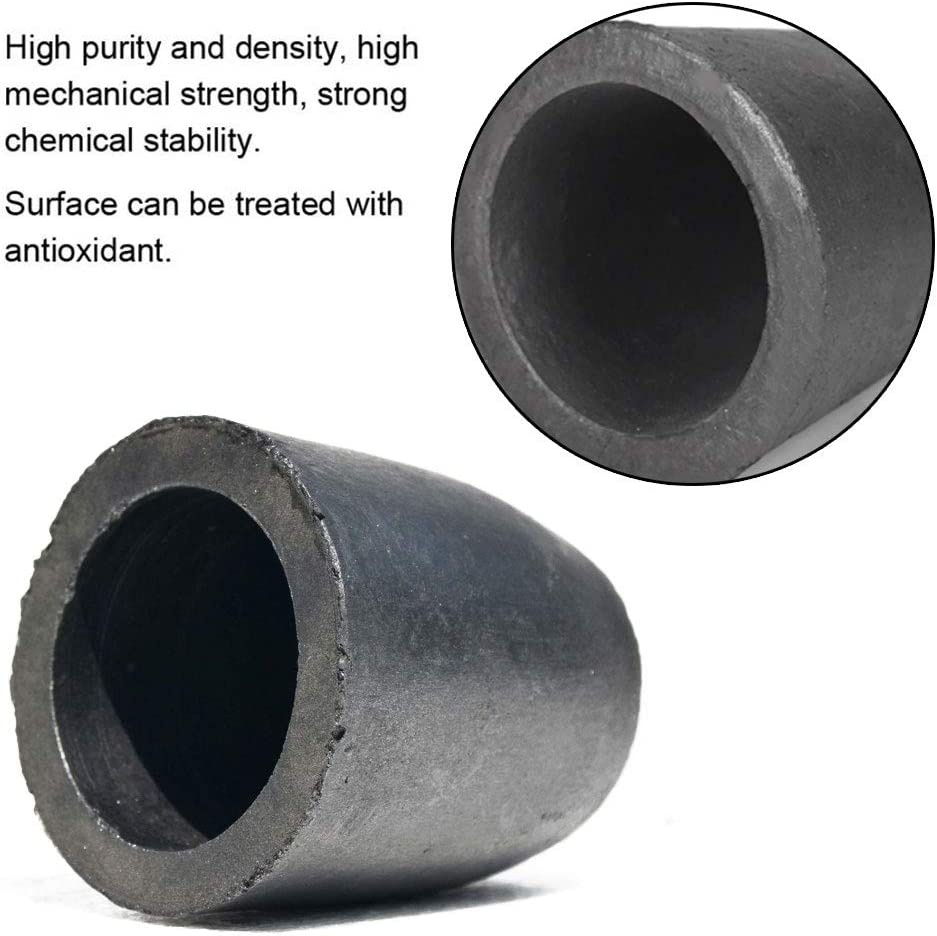 Furnace Torch Melting Casting Refining for Gold Silver Copper Brass Aluminum 1-5kg Clay Graphite Foundry Crucible