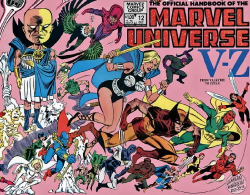 (The Official Handbook of the Marvel Universe #12 : From Valkyrie to Zzzax (Marvel Comics))