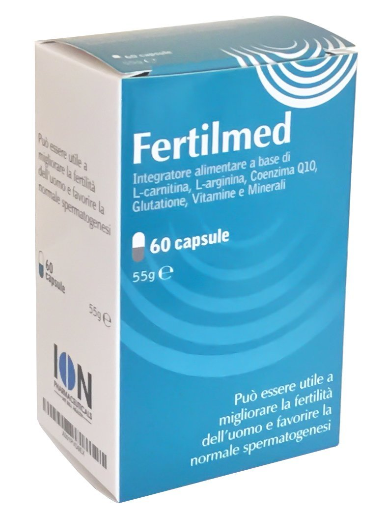 Fertilmed Male Fertility Supplement Improving Men's Conception, Quality and Quantity of Sperm (60 Capsules) ION manifaktura