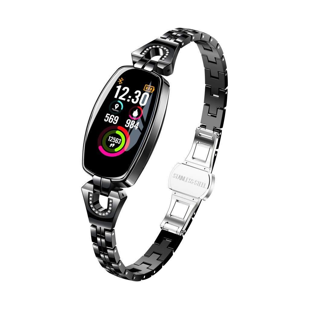 Amazon.com: Sunbona Women Touchscreen Smartwatch Color ...